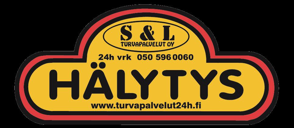 S&L Turvapalvelut Oy:n merkkitarra hälytypalveluista