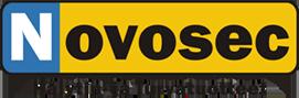 Novosec Hälytin ja Turvatuotteiden logo