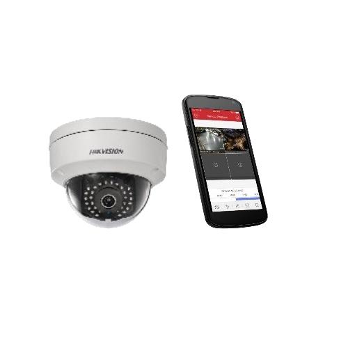 Kuva HikVisionin yhden kameran järjestelmästä